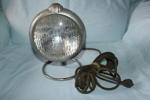 Vintage Unity Handheld Spot Light On Stand