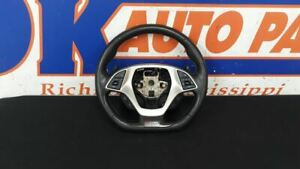 18 Chevy Corvette C7 Z06 Oem Steering Wheel Assembly With Paddle Shift