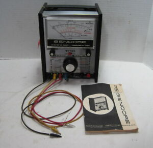 Sencore Model Tf151 In out Circuit Transistor Tester