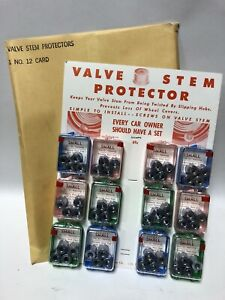 Vintage Tire Store Display Valve Protectors New In Box Nos
