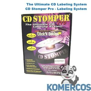 Stomp Inc The Ultimate Cd Labeling System Cd Stomper Pro Labeling System