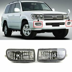 Front Fog Light For Toyota Land Cruiser F100 1998 2007 Bumper Lamp W Bulb New
