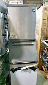 Manitowoc Model Qf0807w Flake Ice Machine B 420 Ice Storage Bin 310 Lb 2046