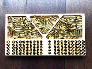 Large Size Bullet Reloading Tray. Timber CNC Machined. 100 Rounds Case Tray AU $89.99