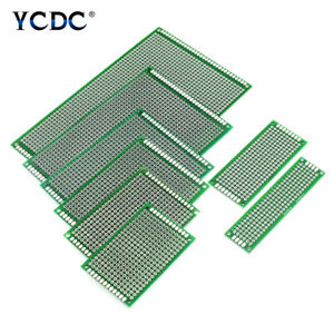 One two Sides Prototyping Pcb Circuit Board Strip Breadboard For Arduino Diy 6c