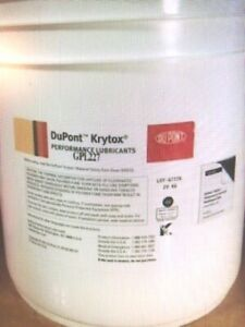 New Krytox Grease Pail Gpl 227 20kg Never Opened