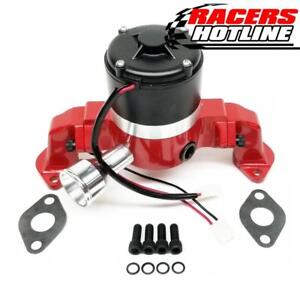 Racers Hotline Chevy 396 454 Bbc Racing Electric Water Pump Red