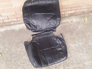 Volvo 240 Leather Seat Covers Driver Side