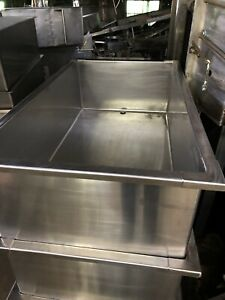 Stainless Steel Rectangular Tank 180 Ga