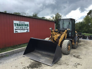 2012 Caterpillar 907h 4x4 Compact Wheel Loader W Cab Only 2900 Hours