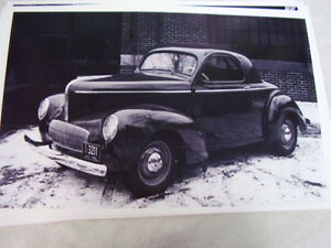 1941 Willys Coupe 11 X 17 Photo Picture