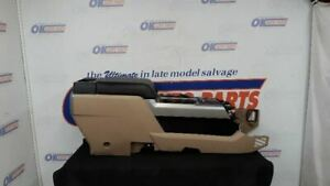 15 Ford F150 Lariat Complete Oem Front Floor Center Console Tan And Black