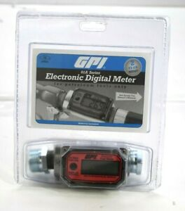 Gpi 01a Series Electronic Digital Meter For Petroleum Fuels Only New 01a31gzm