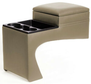 Taupe Chevy Gmc Truck And Suburban Bench Seat Center Console Xxx10214
