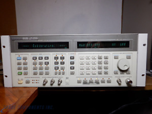 Hp Agilent 8644b 2060 Mhz Synthesized Signal Generator 2ghz