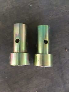 Speeco Brand Pair Cat 1 Quick Hitch Adapter Bushing Set Category I 3 pt Tractor