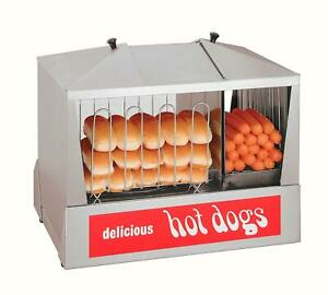 Star 35ssc Classic Hot Dog Steamer Holds 130 Hot Dogs Warms 40 Buns