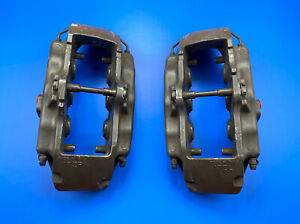 2004 2010 Vw Touareg Brembo Front Brake Calipers Set 6 Piston 17z Oem