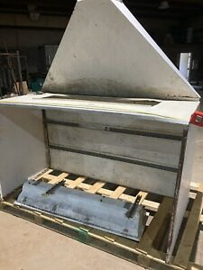 6table Top Paint Spray Booth Made In The Us Used