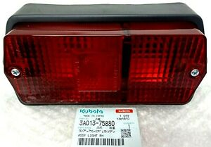 New Genuine Kubota Tractor Tail Lights For M 4700 3a013 75880