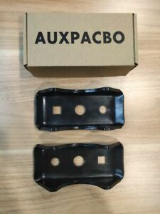 Auxpacbo 2pcs Leaf Spring Axle Seat Perch Mount
