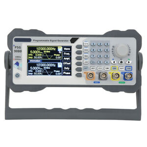 Psg9080 80mhz Programmable Dual Channel Arbitrary Waves Generator