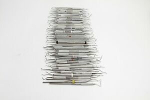 Lot Of 50 Hu Friedy Instruments Dental Tools Explorers Scalers Probes Burnisher