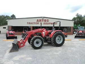 Used 2018 Mahindra Mpower85 Tractor Loader 4x4 Only 360 Hours