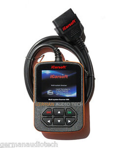 Icarsoft I905 For Toyota Lexus Diagnostic Scanner Tool Erase Reset Fault Codes