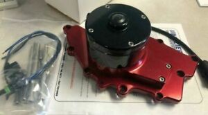 Meziere Buick Electric Water Pump Buick Red 35 Gph wp126r Brand New In Stock