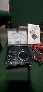 Radio Shack Micronta 22 211a Multimeter Meter includes Test Leads Manual