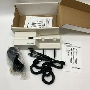 New Welch Allyn 767 Series Model 76710 Diagnostic Wall Otoscope Opthalmoscope