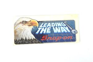 Snap on Snap On Tools Tool Box Eagle Vintage Sticker Racing Decal Reflective 90s