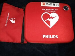 Philips Heartstart Fr2 Aed Defibrillator 2 Yr Wrnty new 2022 Pads Oem Battery