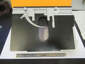 Leitz Orthoplan Stage Table Xy Micrometer Microscope Part As Pictured 11 b 115