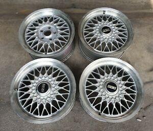 Jdm 16 Bbs Mesh Rg Rg032 Wheels For Sxe10 Dc2 Z32 Z31 240sx 180sx S13 Rs Rs2
