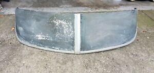 Vintage 1949 1950 Oldsmobile Sun Visor Shield Fulton Peckat Chevy Hot Rod Rat