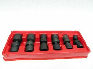 Snap On 6 Piece Swivel Sockets Pak 435750 8 15mm
