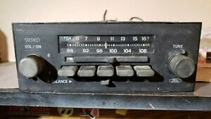 Ford 1980s In Dash Radio Am Fm Stereo Vintage Mercury Lincoln