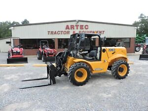2014 Jcb 520 50 Telescopic Forklift Very Nice Watch Video Only 1896 Hours