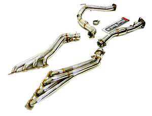Obx r Long Tube Stainless Header Fits 2006 2010 Jeep Grand Cherokee Srt8 6 1l