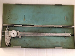 Mitutoyo Dial Caliper 0 12 Inch 505 645 50 With Plastic Storage Case
