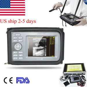 Veterinary Handheld Ultrasound Scanner unit Machine Ultrasonography Equine cow