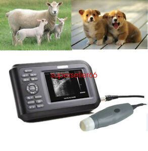 Portable Digital Veterinary Ultrasound Scanner Machine For Pregnancy Animal
