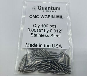 Millimeter Wave Waveguide Pin Military Standard Stainless Steel 100 Pieces