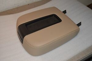 07 14 Tan Gm Gmc Chevrolet Suv Trucks Center Console Lid Cover Top new oem