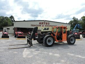 2015 Jlg G10 43a Telescopic Forklift Watch Video Only 3631 Hours