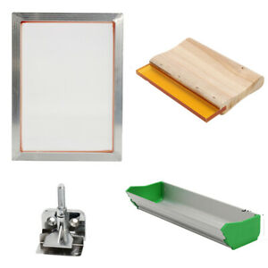 Diy Printer Silk Screen Printing Machine Press Frame Kit Tools For T shirt