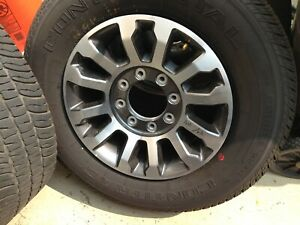 18 Ford F250 F350 Super Duty Factory Charcoal Wheels Tires 2020