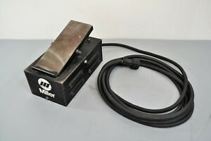 Miller Rfc 14 129339 Remote Welding Foot Control Pedal 5 Pin For Maxstar 200